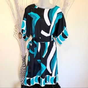 New York & Company size small turquoise blue